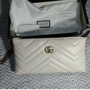 Gucci Bags - Gucci Marmont mini bag wristlet clutch